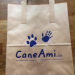 Papiertüte für Hundeschule und Webshop
